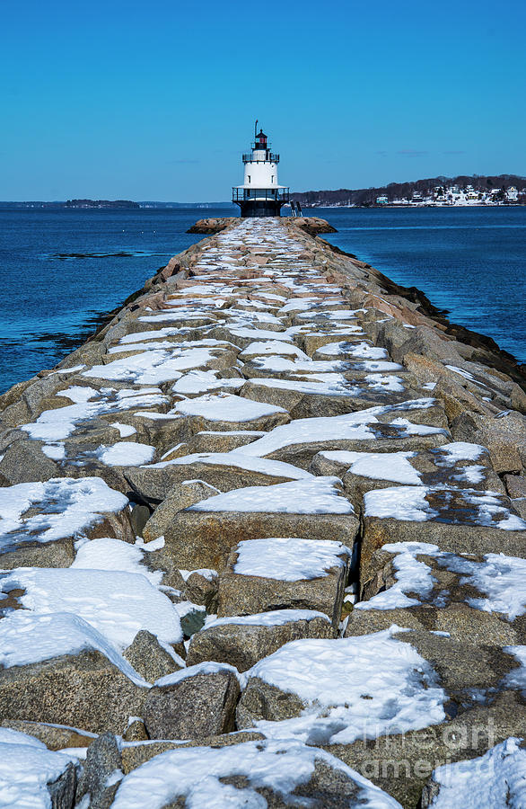 Spring Point Ledge Lighthouse II Photograph
