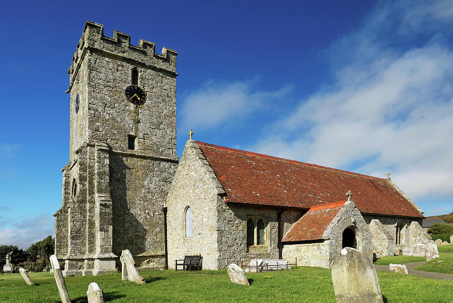 St Andrews Church, Chale, Isle Of Wight Photograph