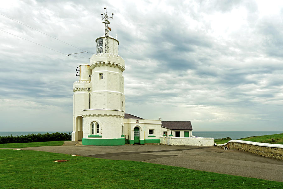 St Catherines Lighthouse - Isle Of Wight Photograph