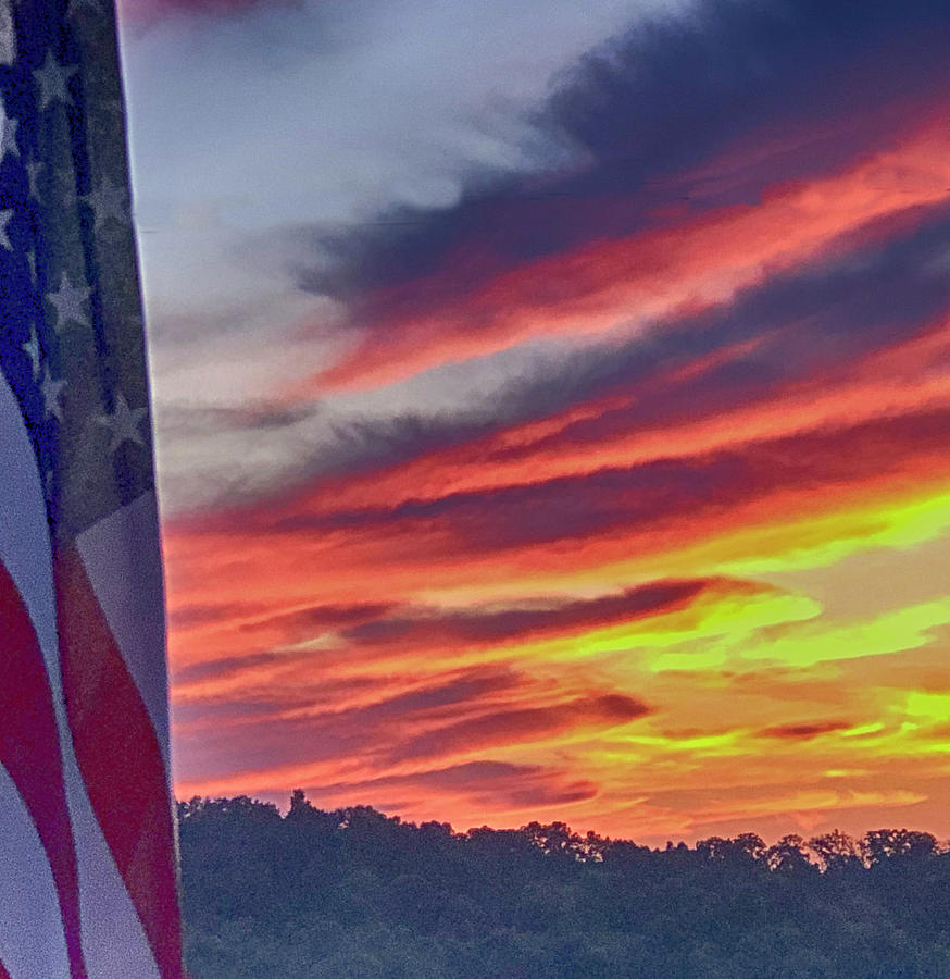 Stars Bars And Colors Photograph