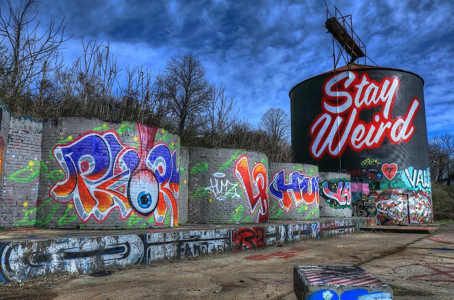 Stay Weird Asheville Photograph