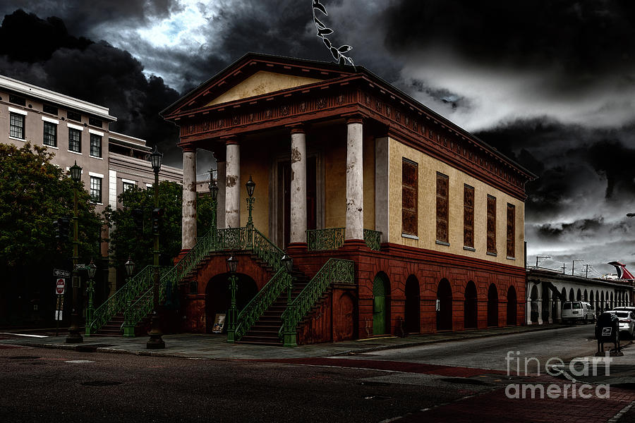 Stormy Charleston Photograph