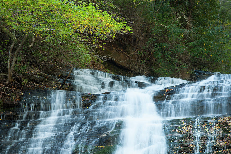 Streaming Water Falls Photograph