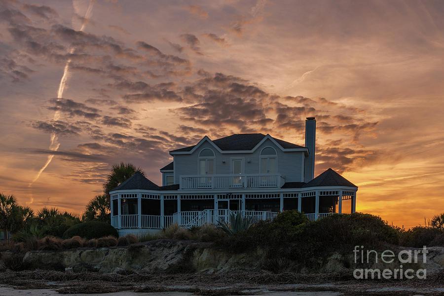 Sullivans Island Sunset Home Photograph