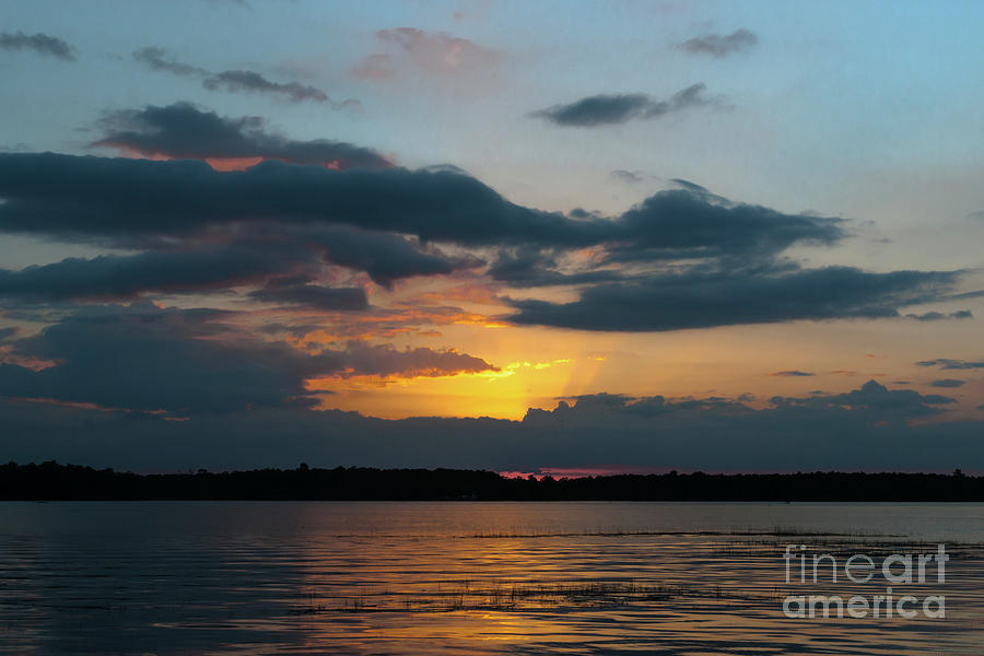 Sunset Costal Sky Photograph
