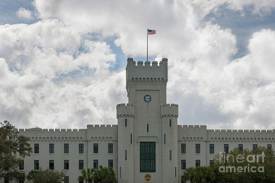 The Citadel - The Military College Of South Carolina Photograph