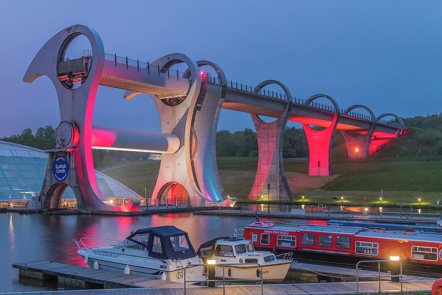 The Falkirk Wheel Photograph