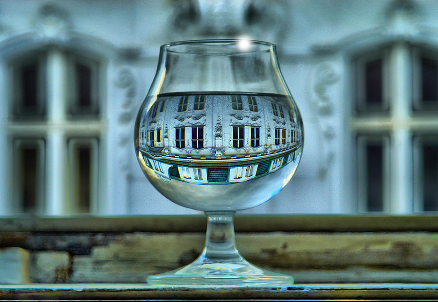 The Glass - Living Upside Down Photograph