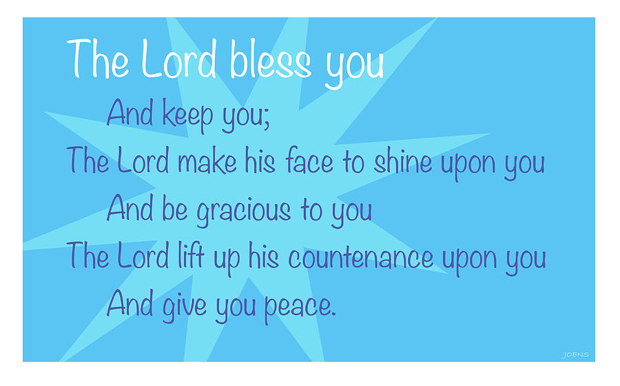 The Lord Bless You Digital Art