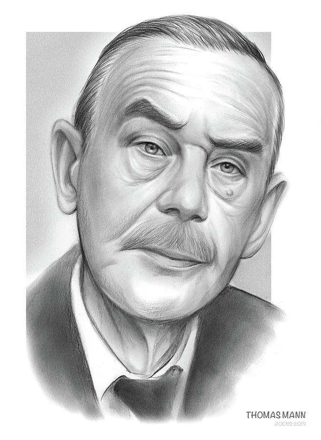 Thomas Mann Drawing