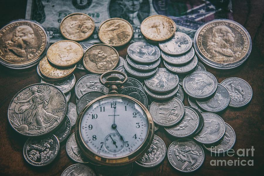 Time Vs Money Photograph