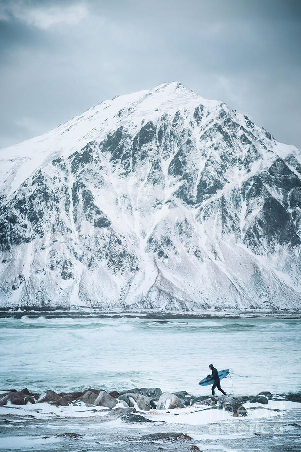 To Ride The Arctic Waves Photograph