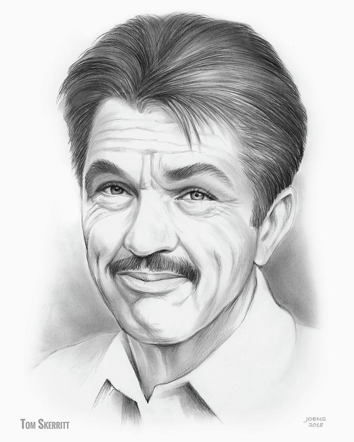 Tom Skerritt Drawing