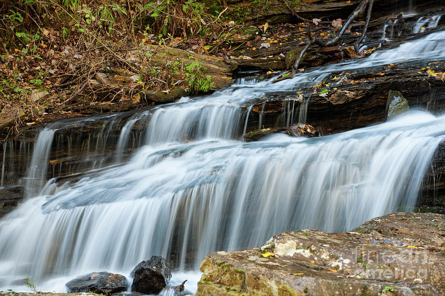 Tranquil Water Fall Sounds Photograph