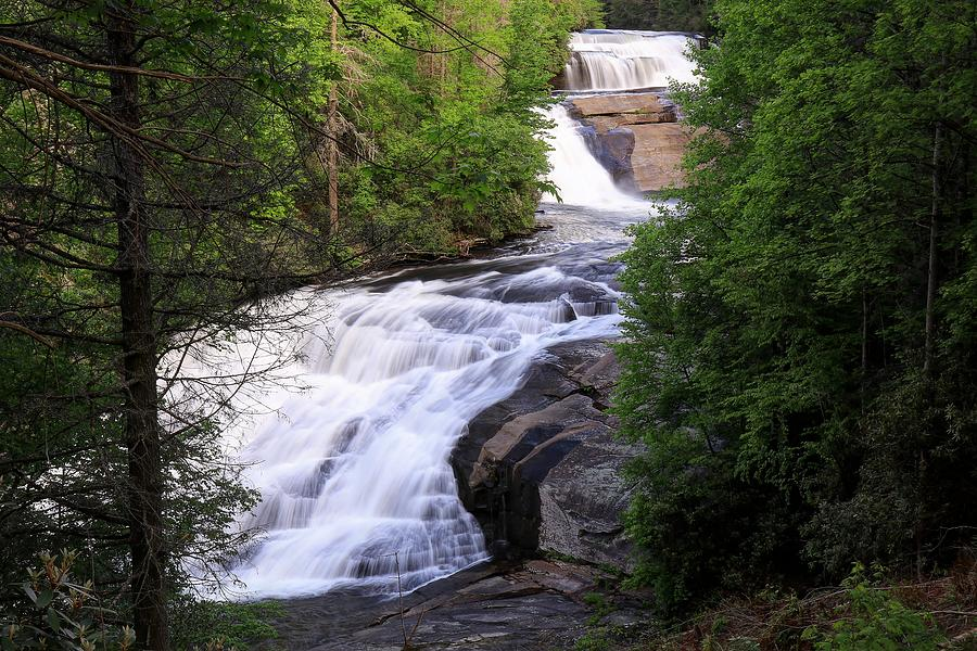 Triple Falls North Carolina Photograph