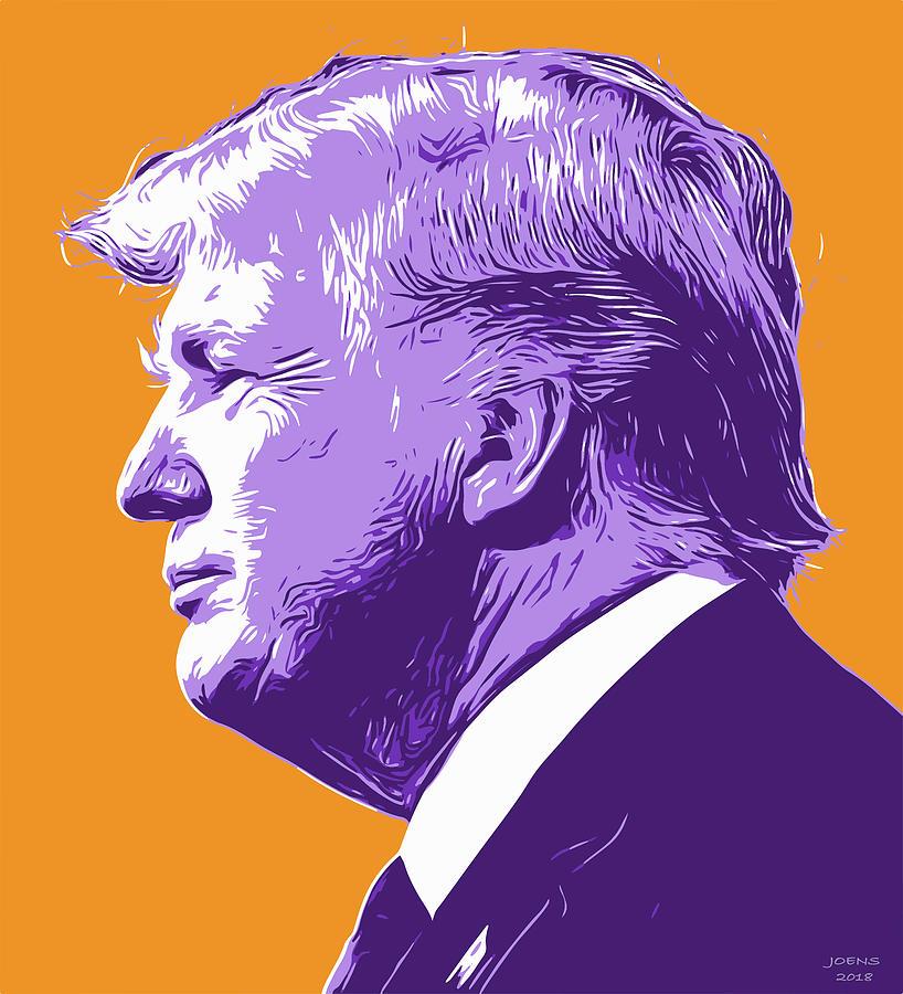 Trump Popart Digital Art