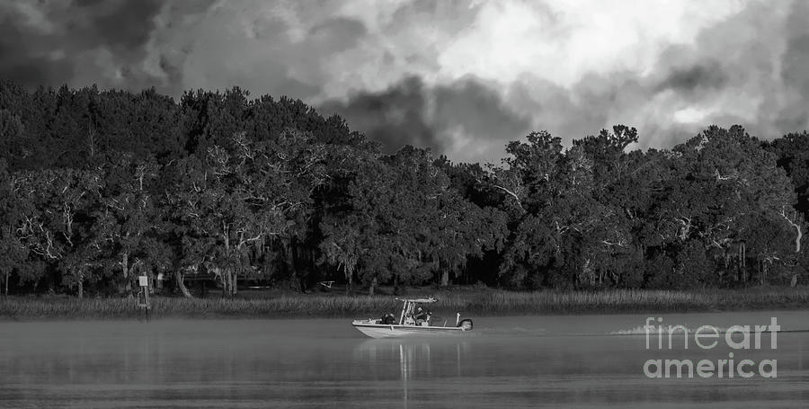 Turbulent Clouds Photograph