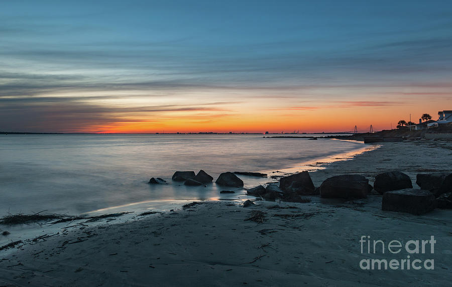 Twilight By The Seashore Photograph