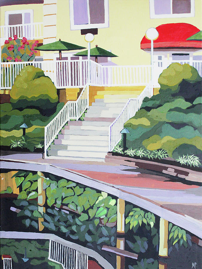 Under The Boardwalk Painting