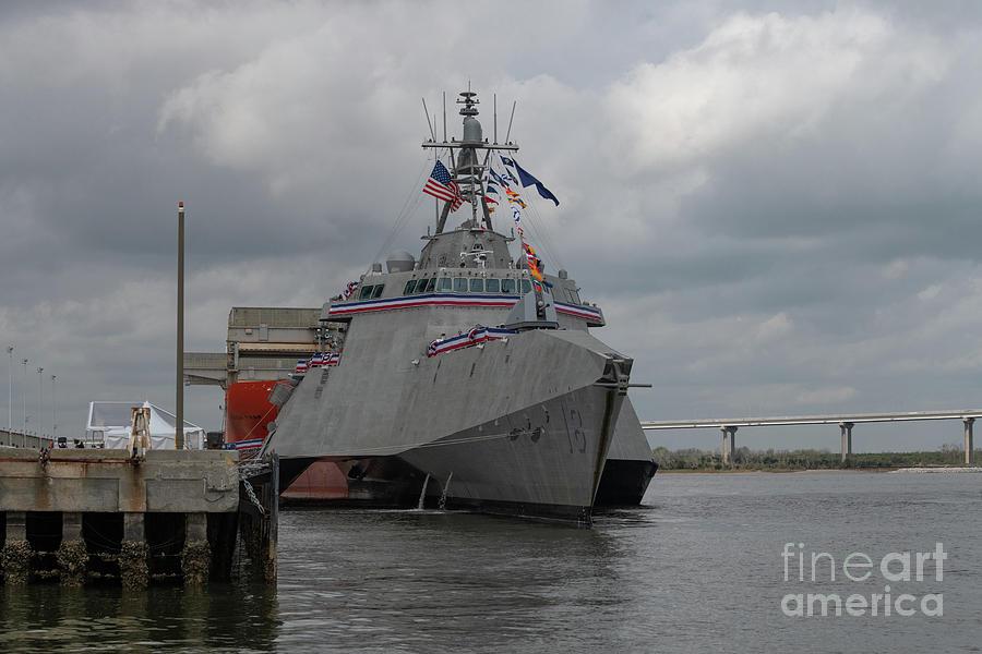 United States Navy Warship Photograph