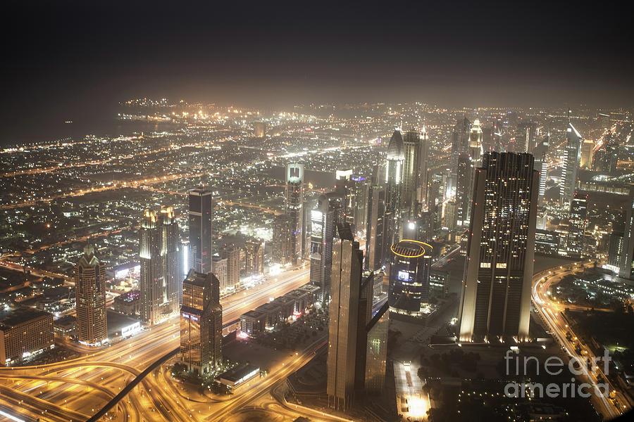 View From Burj Khalifa Photograph