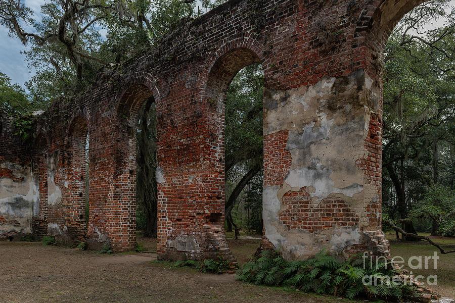 Walls Of God - Sheldon Church Photograph