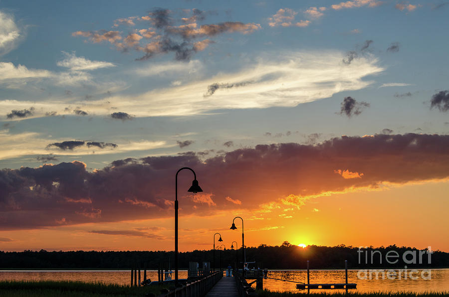 Wando River - Palmetto Sunrise Photograph