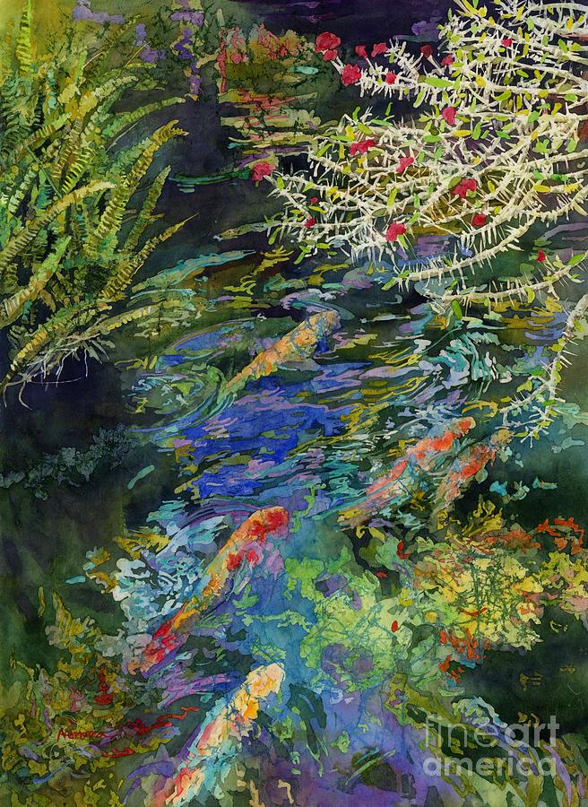Water Garden Painting