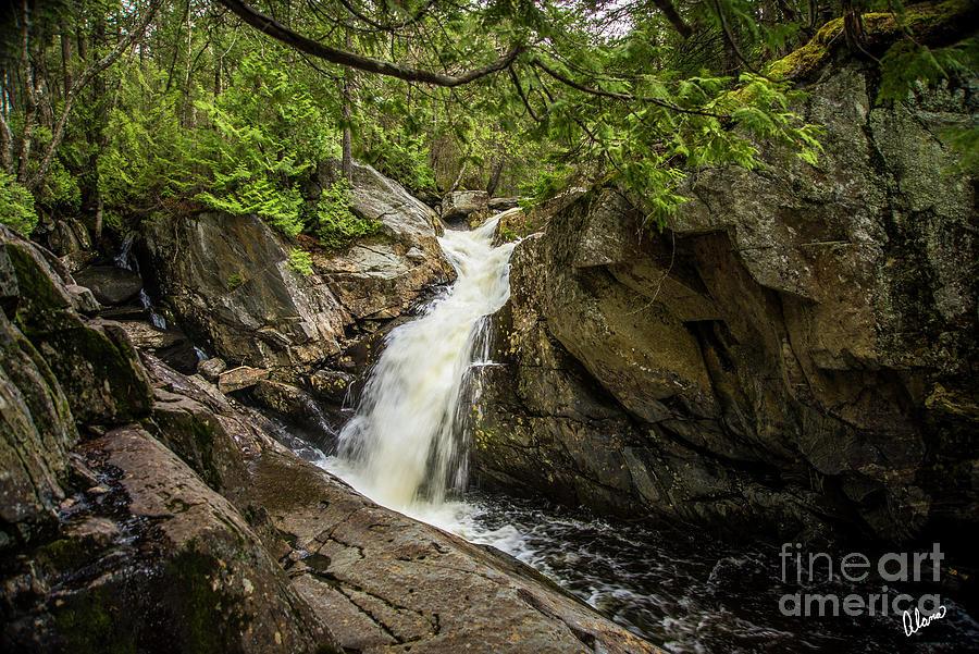 Waterfall Rangeley Photograph