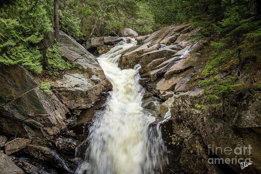 Waterfall Rangeley II Photograph