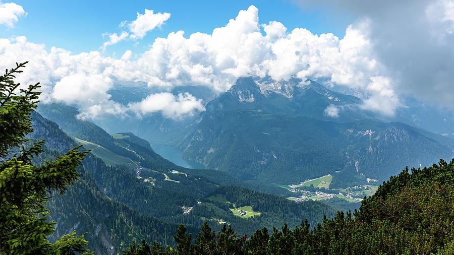 Watzmann And Koenigssee, Bavaria Photograph