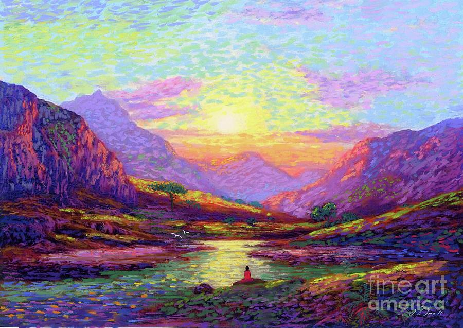 Waves Of Illumination Painting