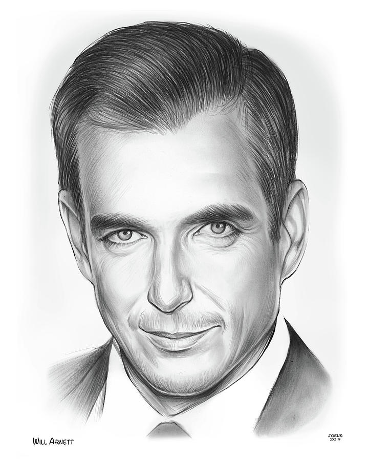 Will Arnett Drawing