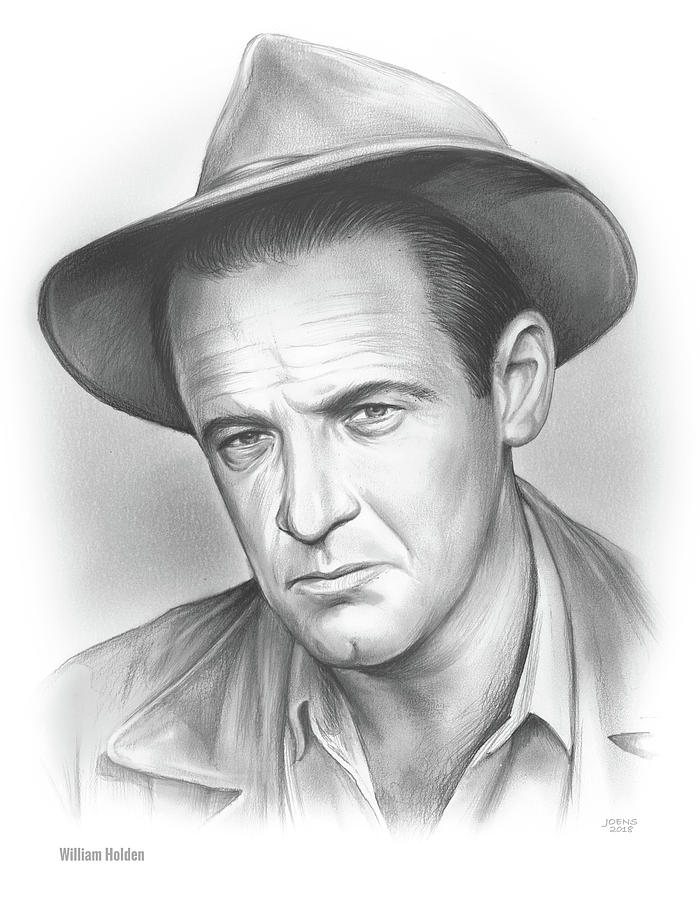 William Holden Drawing
