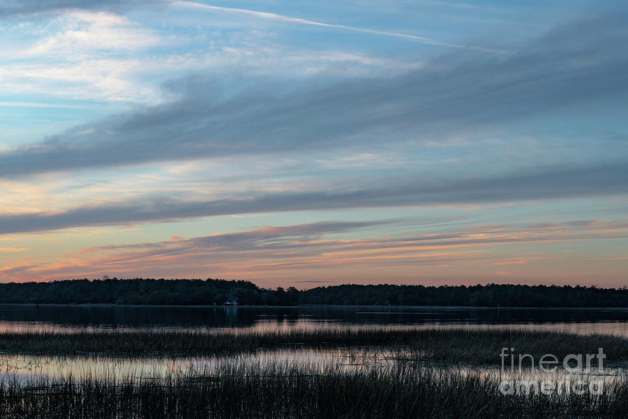 Winter Blues - Sunset Photograph