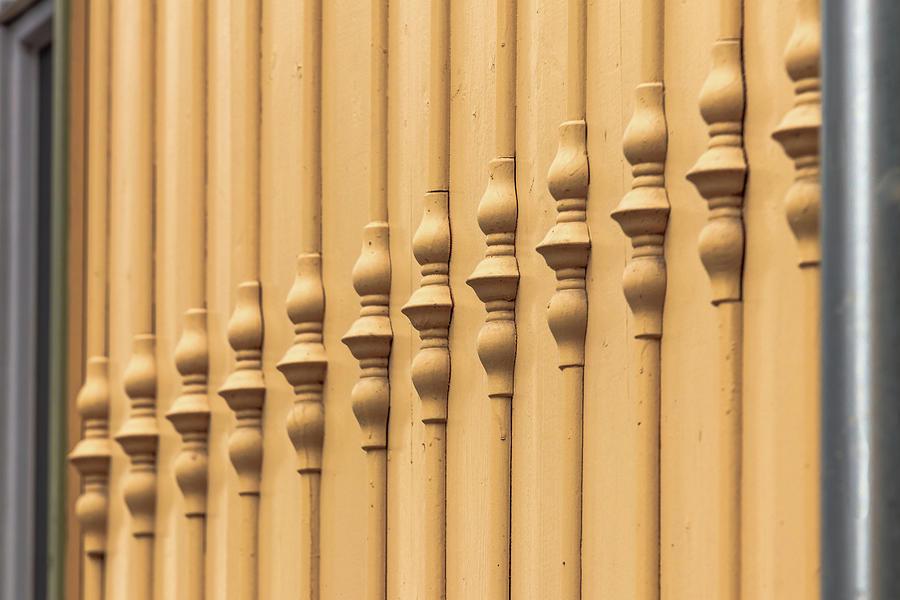 Wooden Facade Jugendstilk Photograph