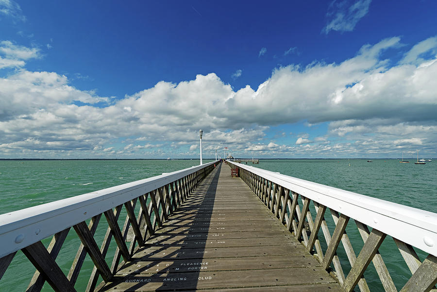 Yarmouth Pier, Isle Of Wight Photograph