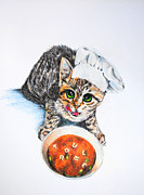 Cookin' Up Trouble Print by Jai Johnson