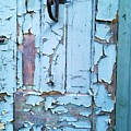 Blue Door In The Old South by Shawn Hughes