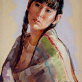 Sacajawea   Study by Jerrold Carton
