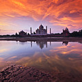 .: The Taj :. by Photograph By Ashique