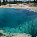 Turquoise Hot Springs Yellowstone by Garry Gay