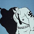 Adolf Hitler Cartoon, 1935 by Granger