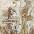 Raphael: Study, C1510 by Granger