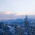 A View Out Over The Mountains Of Utah by Taylor S. Kennedy