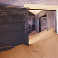Abandoned House Filled With Drifting Sand by Jeremy Woodhouse