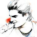 Adam Lambert by Lin Petershagen