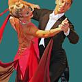 Ballroom Dancers by Larry Linton