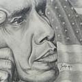 Barack Obama by Stephen Sookoo