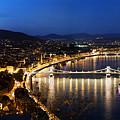 Budapest. View From Gellert Hill by Michal Bednarek